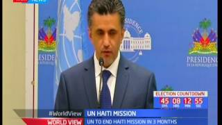 UN Security Council tour Haiti