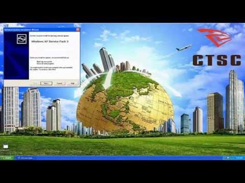 Dự toán CT - Hướng dẫn nâng cấp Windows XP Service Pack 2 lên phiên bản Windows XP Service Pack 3