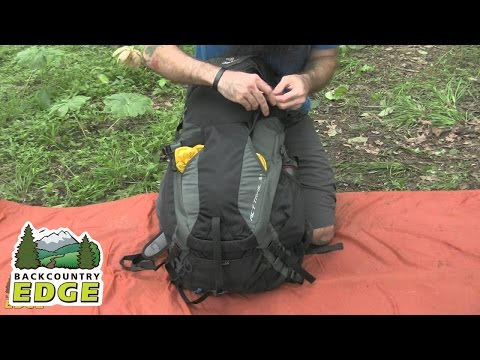 Видео о Рюкзак Deuter ACT Trail 32 цвет 5520 fire-cranberry 34432 5520