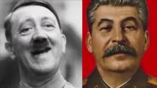 Adolf Hitler - Joseph Stalin/Staline : Video Killed The Radio Star - The Buggles Deepfake
