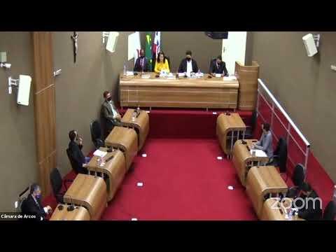 Reunião Ordinária (08/03/2021) - Câmara Municipal de Arcos