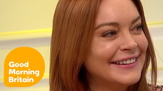 Lindsay Lohan on Converting to Islam Good Morning Britain Video