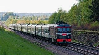 Тепловозы ТЭП60 (Ошмяны) / TEP60 diesel locomotives (BCh, Ashmyany)