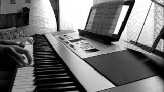 Panna a netvor (Motiv panny) - (Piano cover)