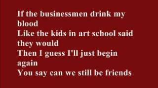 Arcade Fire   Ready To Start (Lyrics On Screen)