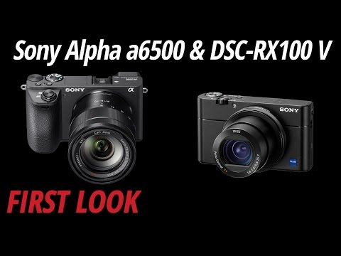 First Look: Sony Alpha a6500 & DSC-RX100 V
