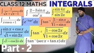 Chapter 7 Integrals Class 12 Maths IIT Jee Mains