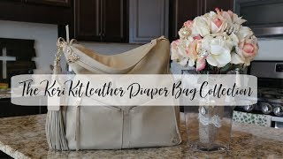 Let's Pack And Review It | KeriKit Lennox All Leather Diaper Bag | The Sensible Mama