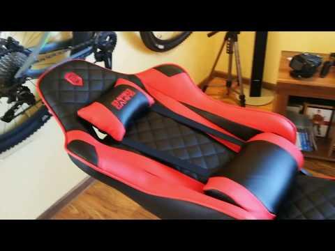 Gamer Stuhl   EMPIRE Gaming Serie 700   Schwarz/Rot   Belastbar bis 120kg   Sehr bequem