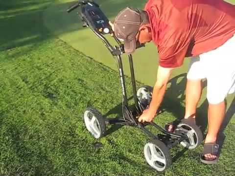 Sun Mountain Micro Cart - 4 wheel golf push cart