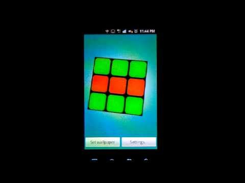 Video of Scrambling Rubik's Cube