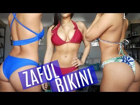 HUGE ZAFUL BIKINI TRY ON HAUL (CURVY EDITION) – HONEST REVIEW 2018