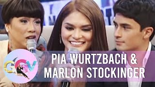 GGV: Pia admits having a crush on Marlon