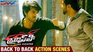 Bruce Lee The Fighter Telugu Movie   Back To Back Action Scenes   Ram Charan   Rakul Preet   DVV