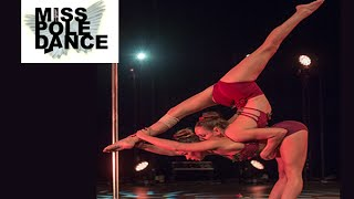 Yvette Dusol & Jade Tinkler - DOUBLES WINNERS - Miss Pole Dance UK 2015