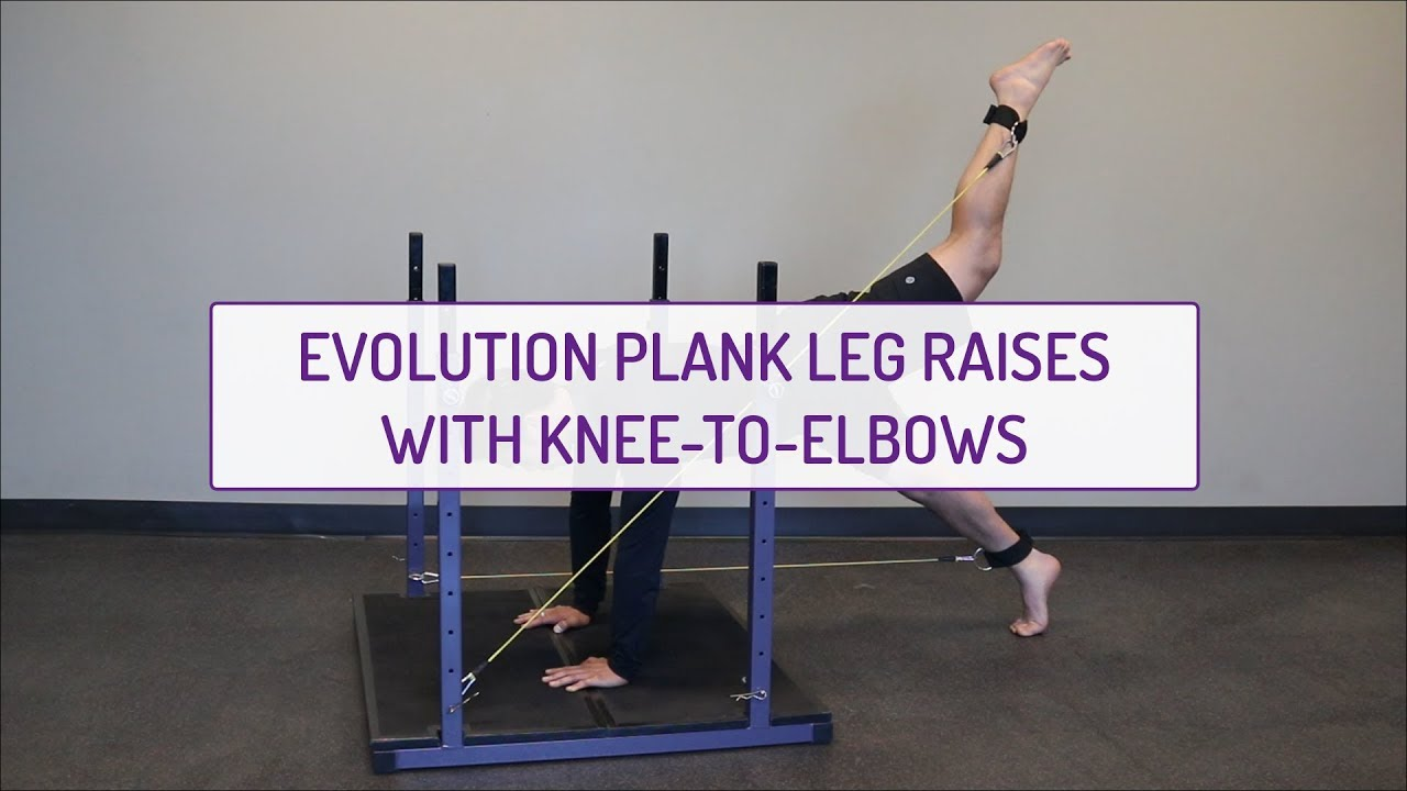 Evolution Plank With Knee to Elbow