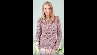 Простой Пуловер Спицами - модели - 2019 / Simple Pullover Knitting Needles