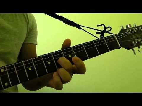 How to Play A7 Guitar Bar Chord