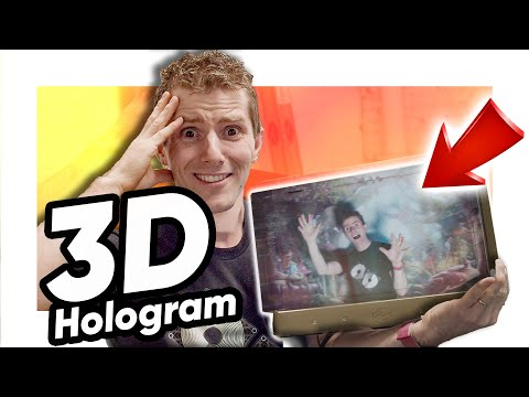 I could hardly believe my eyes! - Looking Glass Holographic Monitor