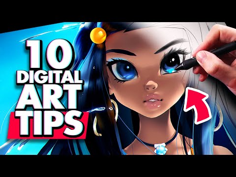 easy digital art tips that changed everything by drawing with moxie