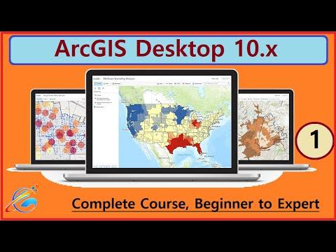Complete ArcGIS Course: Beginner To Expert | ArcMap Intro | Urdu ...