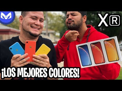 iPhone XR UNBOXING DISEÑO VS iPhone XS MAX