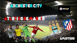 preview picture of video 'FIFA 15 | Amistoso Manchester City (Rober) - Atlético de Madrid (Alfon)'