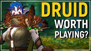 FUN OR NOT? The Druid - Legion Patch 7.3.5 Class Review [Feral, Guardian, Resto & Balance]
