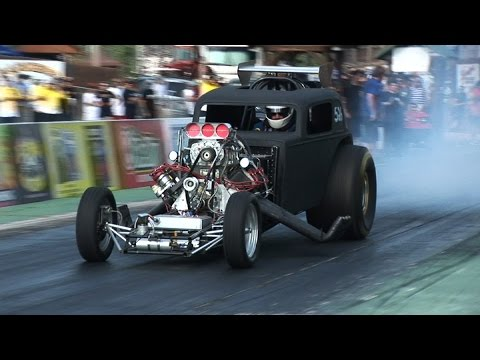 Blown Fueled Altered Dragsters
