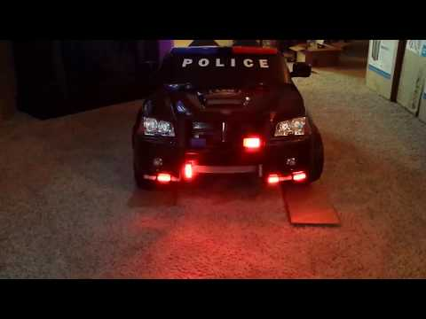 Kids Police Charger with lights mod