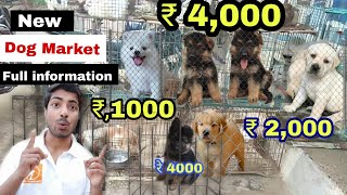 Dog market all breed information.