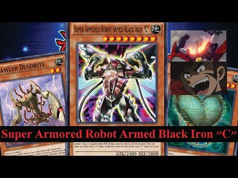 """(Yu-Gi-Oh! Duel Links)รีวิว Super Armored Robot Armed Black Iron """"C""""(EP.467) Reupload"""