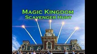 Walt Disney World Magic Kingdom Scavenger Hunt and Tons of other fun!