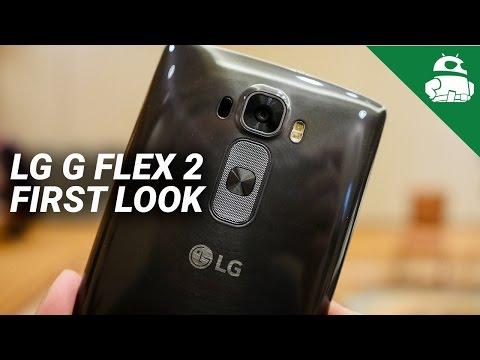 LG G Flex 2 First Look!