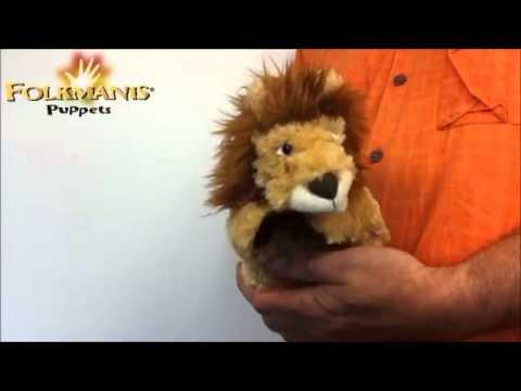 plyšový Lvíček na ruku
