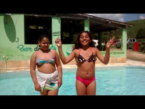 Desafio da piscina feat.Dandara