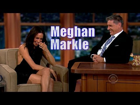 Meghan Markle - Is Charming & Fun With Craig Ferguson