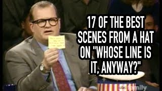 """17 Of The Best Scenes From A Hat On """"Whose Line Is It, Anyway?"""""""