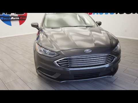 Pre-Owned 2017 Ford Fusion Sedan 4D SE EcoBoost 1.5L I4