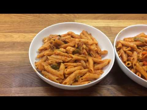Instant Pot One Pot Pasta with chicken Pressure cooker Recipe