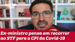 Rodrigo Constantino: Pazuello já é tratado como investigado