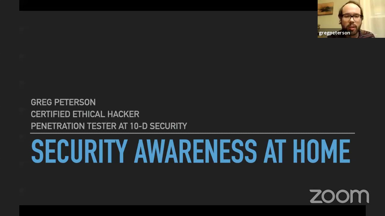 Cyber Security Video - Feb 2, 2021
