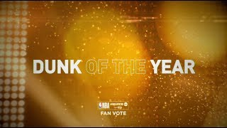 2018 NBA Awards - Dunk of the Year Nominees