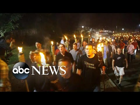 Download White nationalists, counterprotesters clash at University of Virginia HD Mp4 3GP Video and MP3