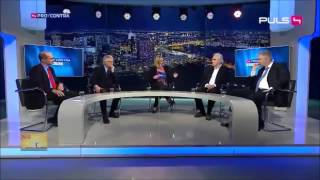 АМЕРИКАНЦА ЧУТЬ НЕ ПРИБИЛИ на ток шоу в Европе за выпады против России!!!