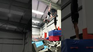 5 metre BACKFLIP Kick 🤸🏼🥋 Nile Wilson