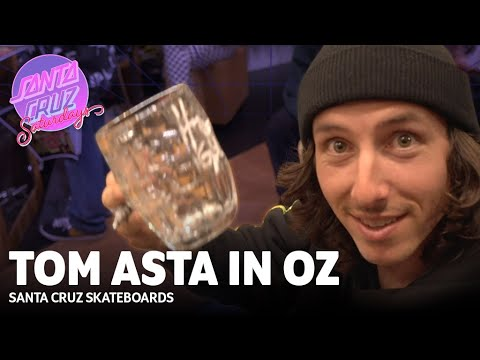 Lord of the Ledge! Tom Asta in Australia | Santa Cruz Saturdays