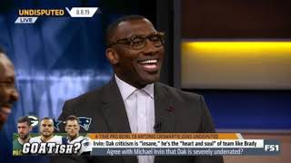 Agree with Michael Irvin that Dak is severely underrared? | Undisputed
