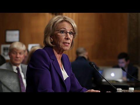 Education Secretary Betsy DeVos is a