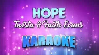 Twista & Faith Evans   Hope (Karaoke Version With Lyrics)